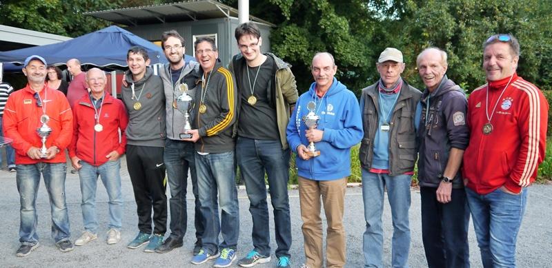 Sieger und Platzierte Kreismeisterschaft 2017