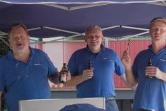 3 Herren vom Grill